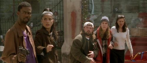 Dogma 1999 Chris Rock Salma Hayek Kevin Smith Jason Mewes Linda Fiorentino