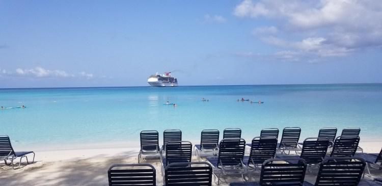 Carnival Pride Cruise Half Moon Cay Beach