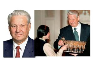 Boris Yeltsin. Russian hell raiser