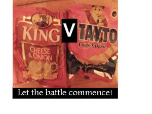 Battle of the crisps, Tayto or King crisps