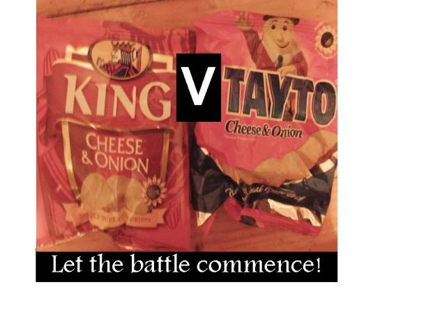Battle of the crisps, Tayto or King crisps