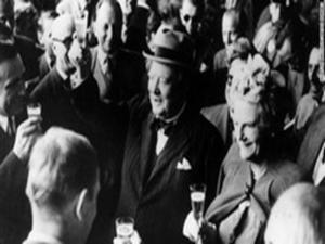 Winston Churchill serial boozer