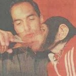 Edmundo and his pet monkey