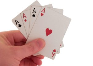 four aces how to play poker