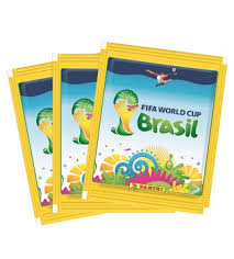 Panini World Cup 2014 Sticker Pack Opening
