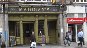 Madigans, Dublin, beer, drinking, Guinness, beer crawl, pub, Craic, Smithwicks, drunk, irish wit, craft beers