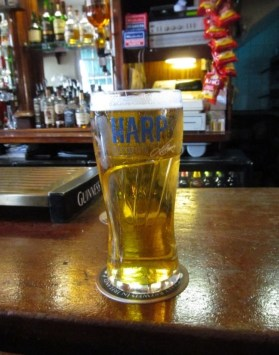 Harp lager, Dublin, beer, drinking, Guinness, beer crawl, pub, Craic, Smithwicks, drunk, irish wit, craft beers
