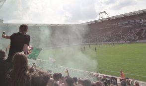 Fußball-Club St. Pauli, Astra Bier, Reeperbahn, St Pauli, Hamburg, Bundesliga, soccer, football, The Jolly Roger,,