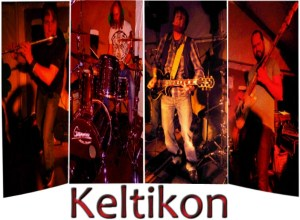 A drink with Keltikon, Switzerland's Celtic Punk Rock band, irish music, beer, irish pub, bagpipes