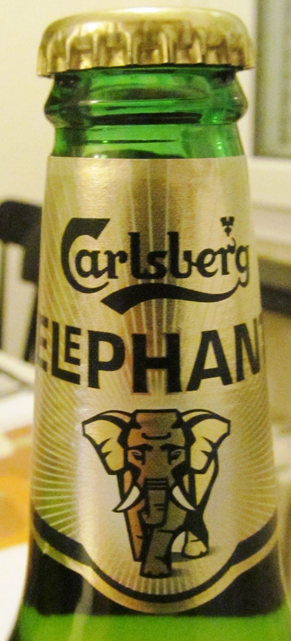 Carlsberg Elephant Beer, The Elephant Gate, Copenhagen, Denmark, Danish beer