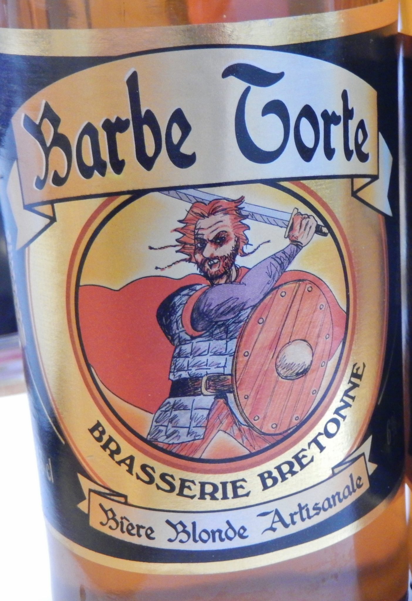 Barbe Torte, an award winning Breton beer