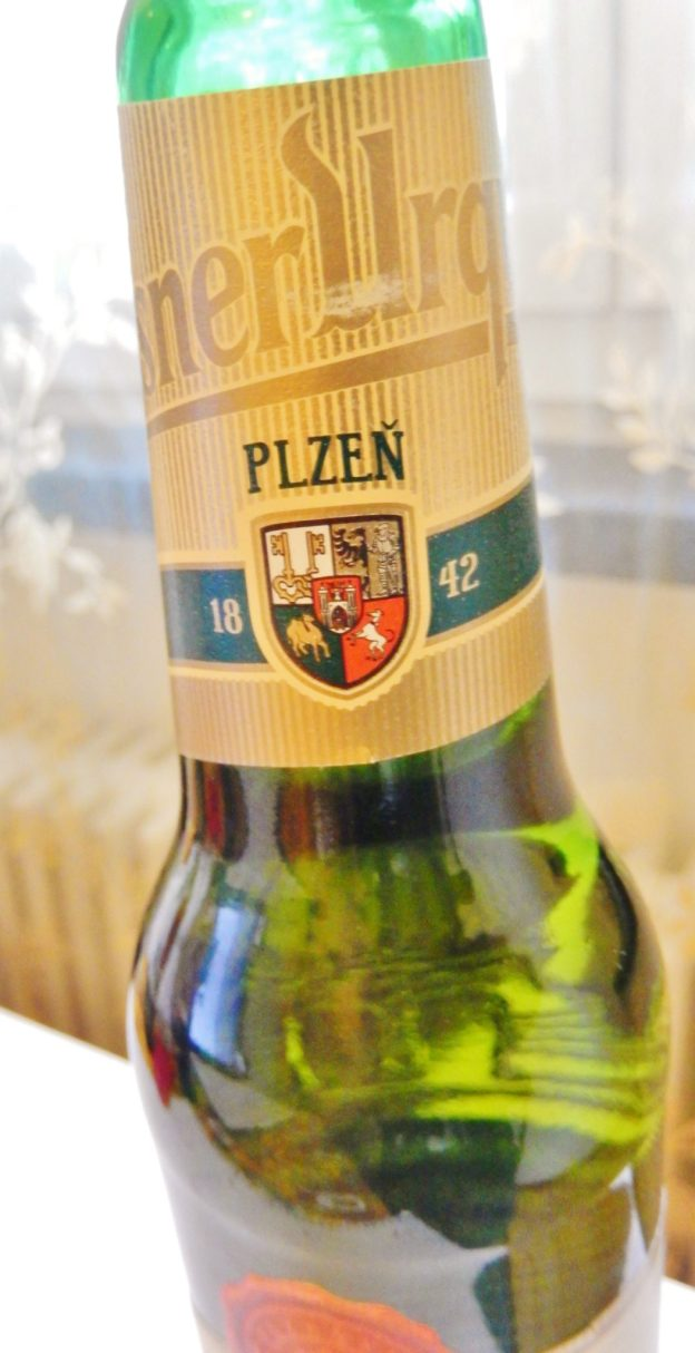 Pilsner Urquell, the daddy of all pilsners, and headquartered in Plzeň