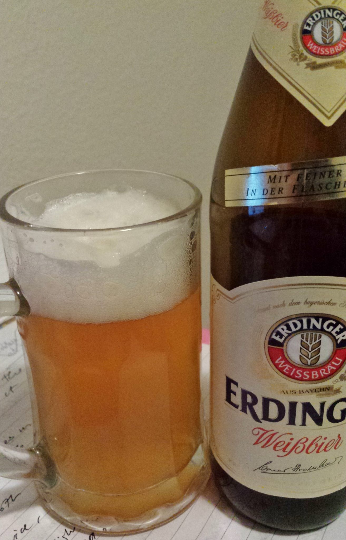Erdinger Weissbier, The Taste of Bavaria