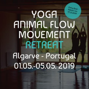 Yoga and Animal Flow Retreat Algarve 2019