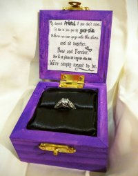 """Say """"Yes"""" to these Cute Custom Disney Engagement Ring ..."""