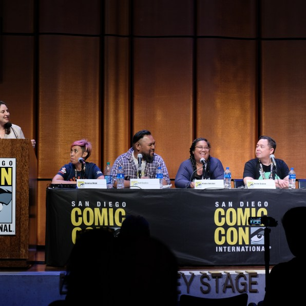 Fiipinx Voices in Podcasting SDCC Panel/Photo by Producer Mike