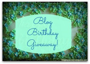 Time to Celebrate! {GIVEAWAY}