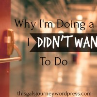 Why I'm Doing the Job I Didn't Want to Do