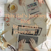 This Gal's Journey Re-Launch Giveaway!