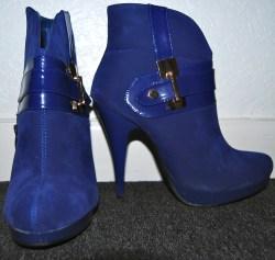 Blue suede shoes?? ;)