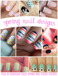 Spring Nail Designs: Plus 10 Gorgeous Solid Color Options ...