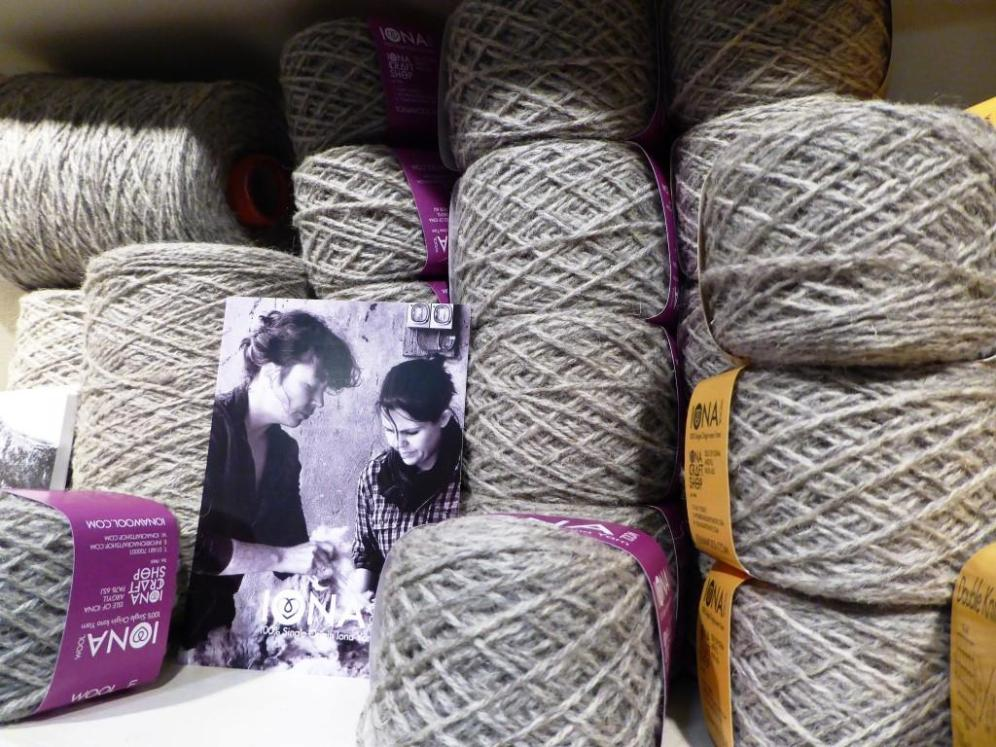 Undyed Iona wool
