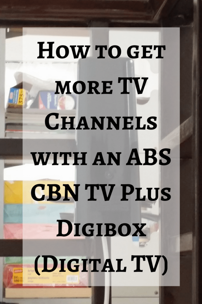 Abs Cbn Tv Plus Digibox How To Get More Tv Channels