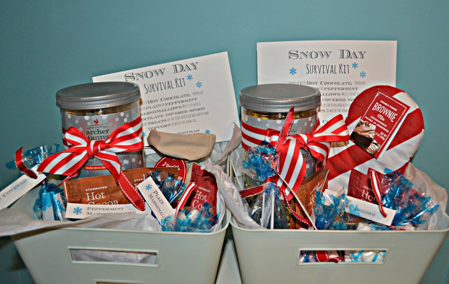 DIY Snow Day Survival Kit | thisgratefulmama.com