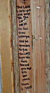Write It On The Door Posts | thisgratefulmama.com