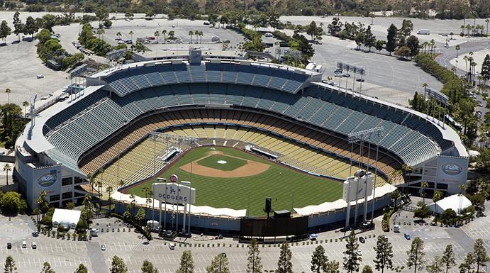the ballparks dodger stadium this