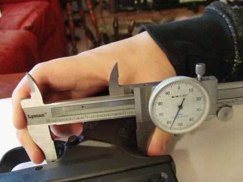 """Trigger pulled back measurement: 2.257"""""""
