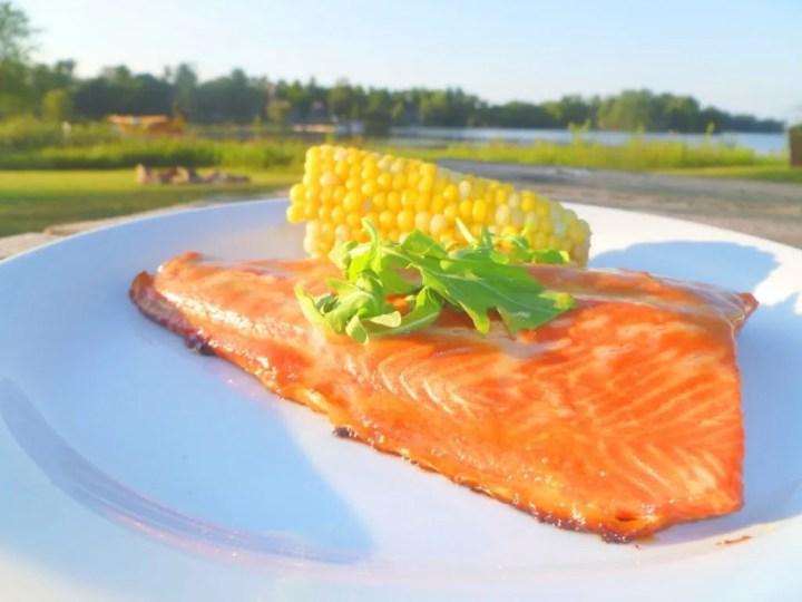 Honey Mustard Salmon