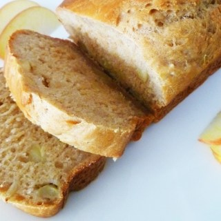 Apple Honey Beer Bread