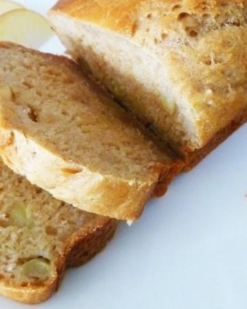 Apple Honey Beer Bread
