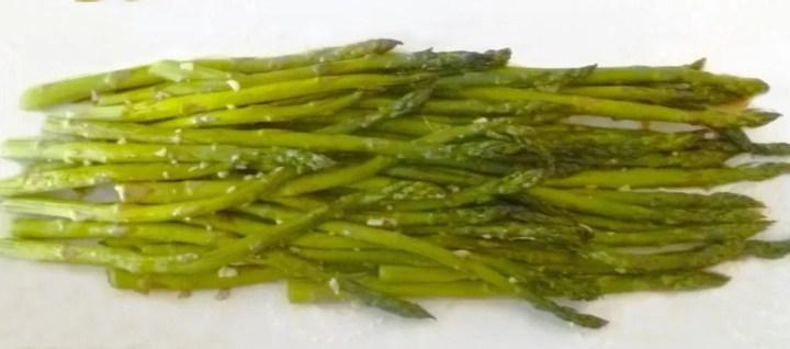Roasted Asparagus with Soy Glaze
