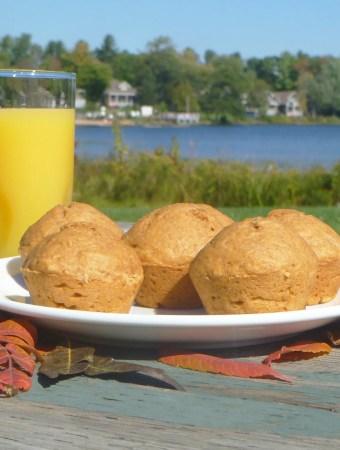 Skinny Pumpkin Spice Muffins