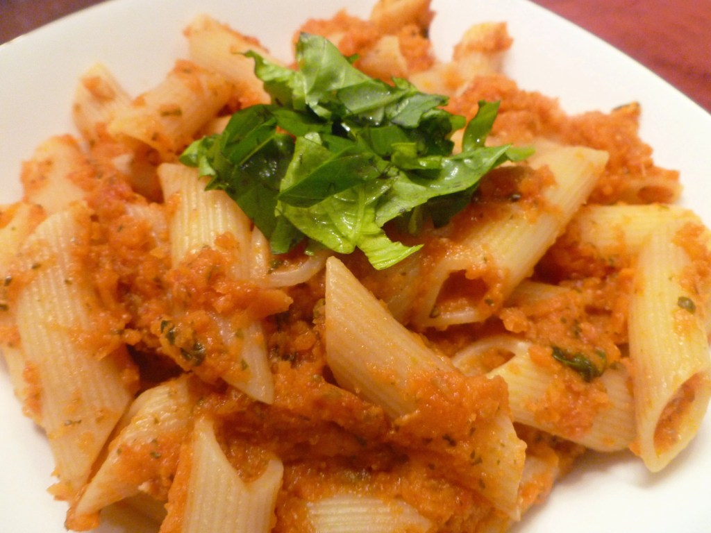 how to make carrot pasta