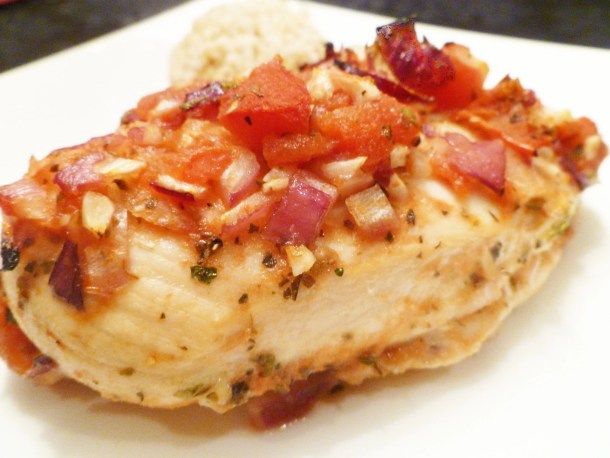 Tomato Baked Chicken