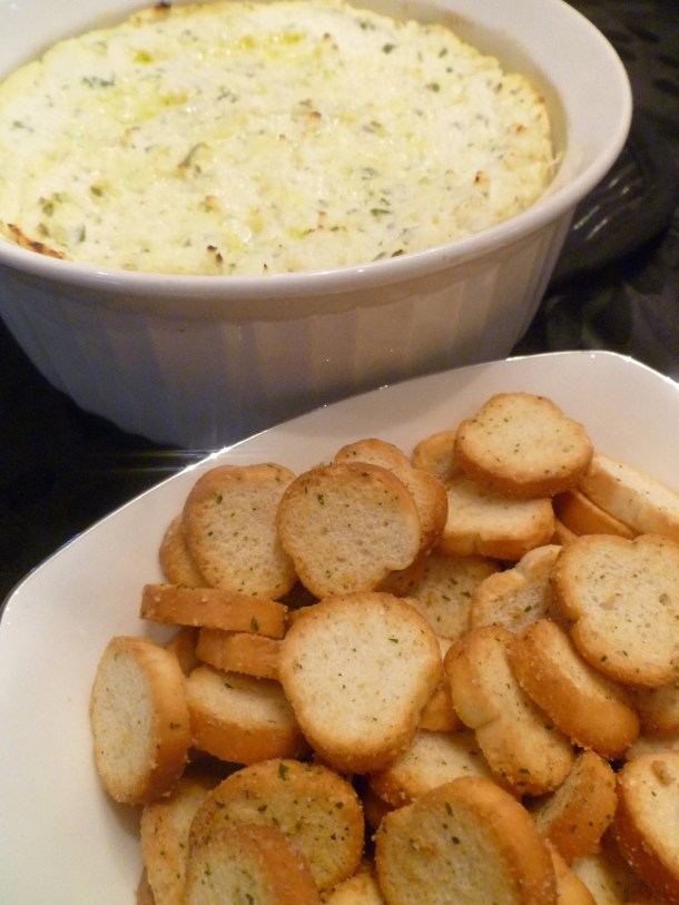 Warm Ricotta Cheese Dip -- Deliciously creamy, warm cheese dip filled with savoury flavours.   thishappymommy.com