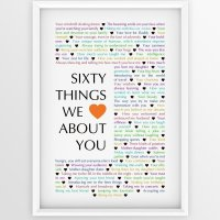 60 Things We {Love} About You