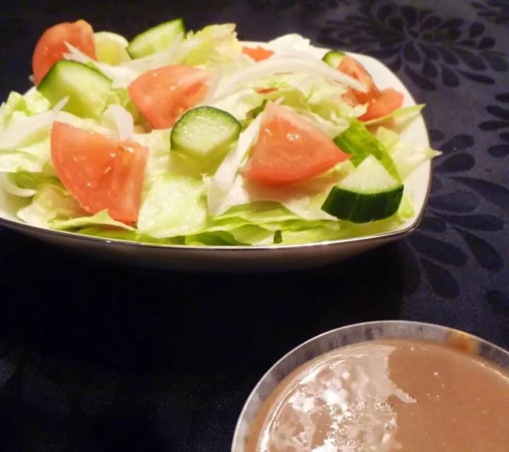 Creamy Balsamic Garden Salad