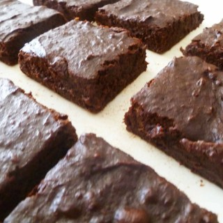 Maple Date Brownies