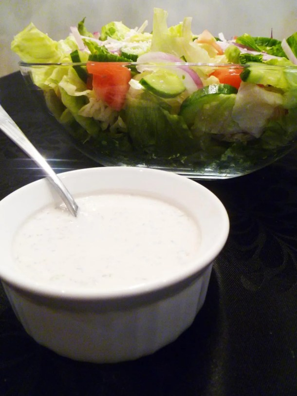 Creamy Greek Salad