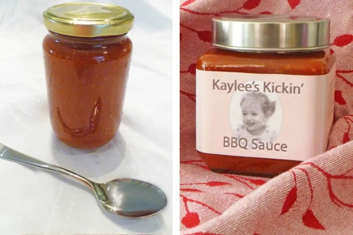 Homemade Barbecue Sauce Gift