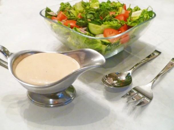 Greek Yogurt French Salad Dressing