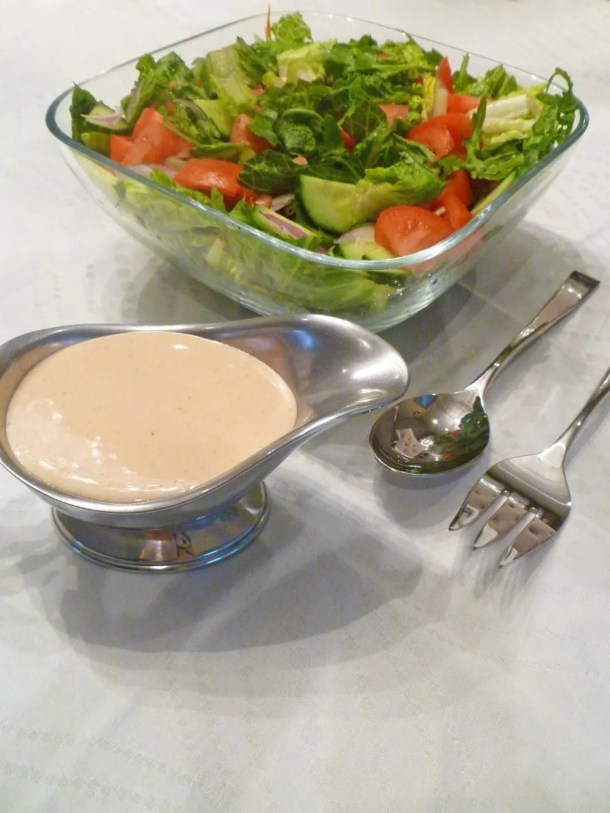 Greek Yogurt French Salad Dressing