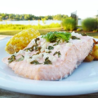 White Wine Summer Salmon