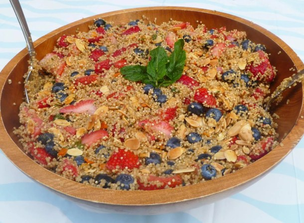 Berry Nutty Quinoa Salad