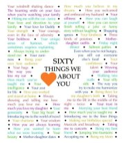 60 Things We {Love} About You - Diamond Edition - Download