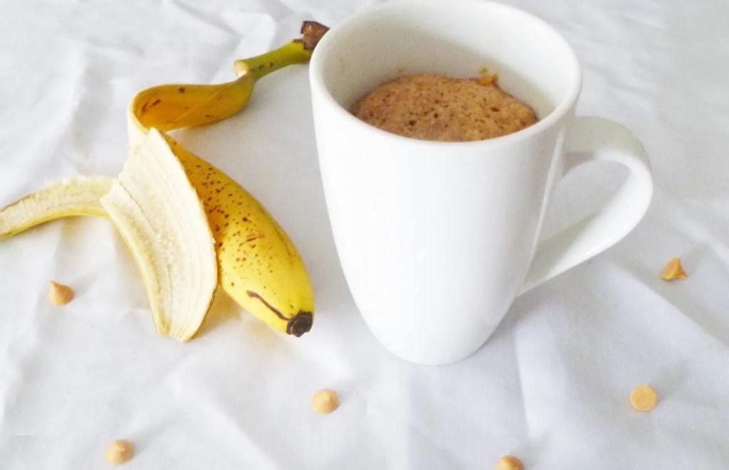 Banana Mug Cake For One